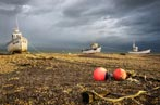 Three Sisters and Two Bouys, Dungeness, UK